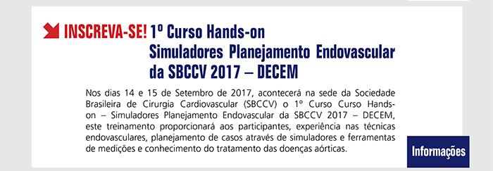 1º Curso Hands-on - Simuladores Planejamento Endovascular da SBCCV 2017 - DECEM